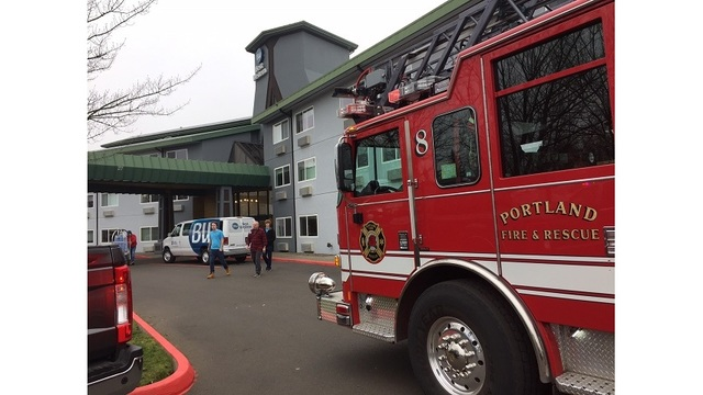 1 injured in fire at Best Western Inn