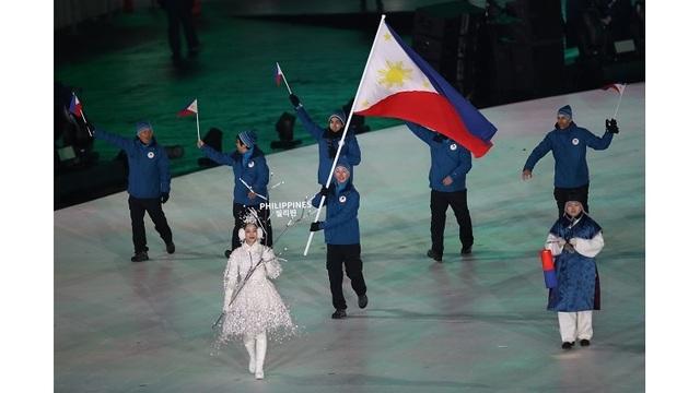 Asa Miller Philippines flag bearer winter Olympics  PyeongChang 2018