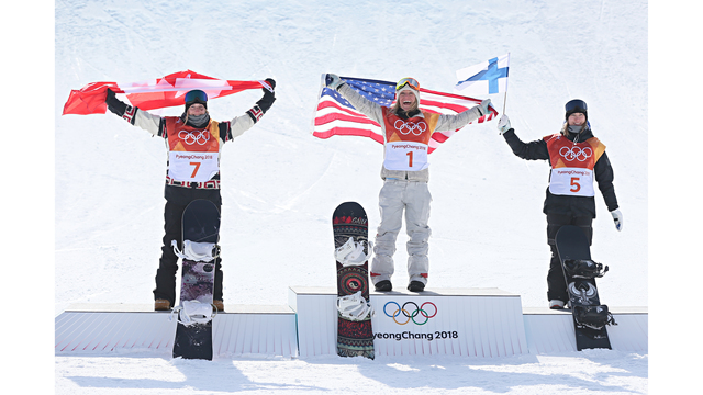 US brings triple threat in Olympic Snowboarding