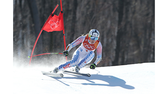 Italy's Goggia wins Olympic downhill, Vonn third