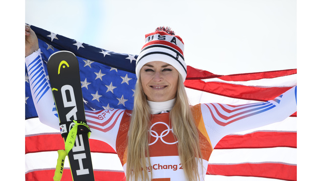 The secret messages Lindsey Vonn wrote on her Olympic race suit