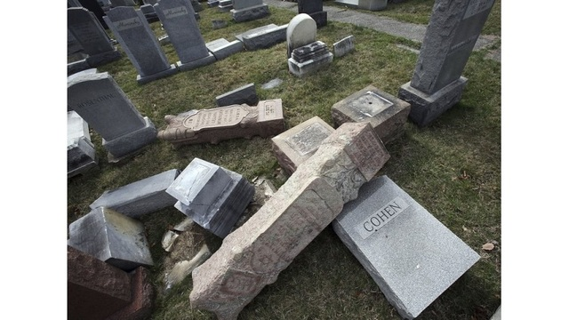 Anti-Semitic Incidents In US Rose Nearly 60 Percent In 2017