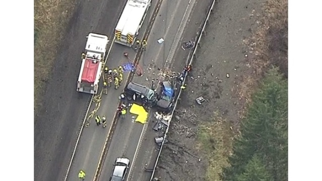 Deadly crash shuts down Hwy 26 near Tillamook County-Washington County line