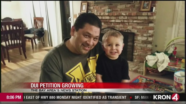 VIDEO: Family of toddler killed in freeway crash starts petition to change DUI laws