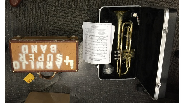 Teen arrested in connection with stealing musical instruments from high school in Fairfield
