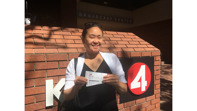 Here's the winner of our 'Hamilton' contest