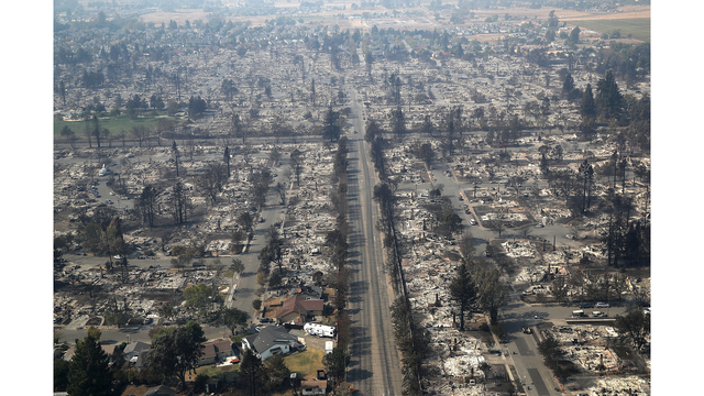 Multiple Wildfires Destroy Homes, Threaten California Wine Country_648447