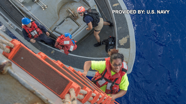 VIDEO: 2 women, dogs rescued after drifting 5 months in Pacific Ocean