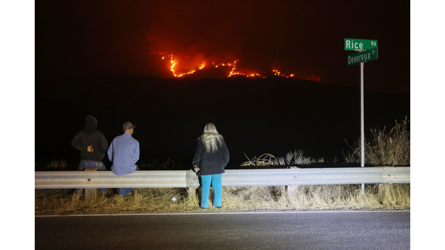 Southern California Wildfires Forces Thousands to Evacuate_683108