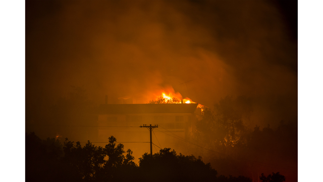 Southern California Wildfires Forces Thousands to Evacuate_684009