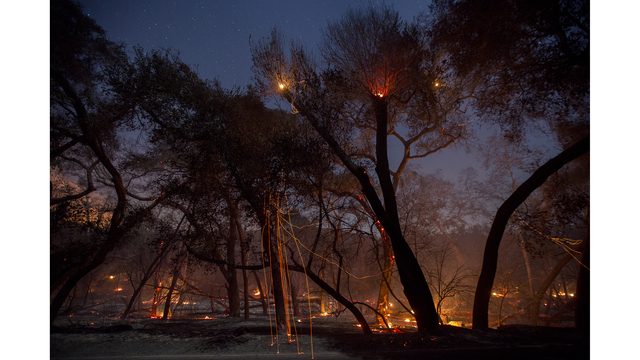 Southern California Wildfires Forces Thousands to Evacuate_684006