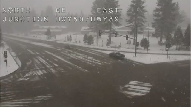 Storms dumps 5 inches of snow in 2 hours near Reno