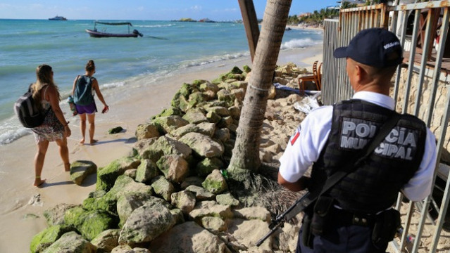 Canada issues travel warning for Playa del Carmen, Mexico after ferry explosion