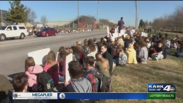 Arkansas Students Paddled For Participating In National School Walkout, Claims Parents