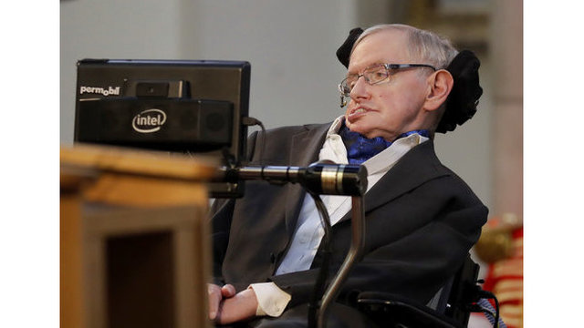 Nobel Prize-winning scientist Stephen Hawking dies at 76