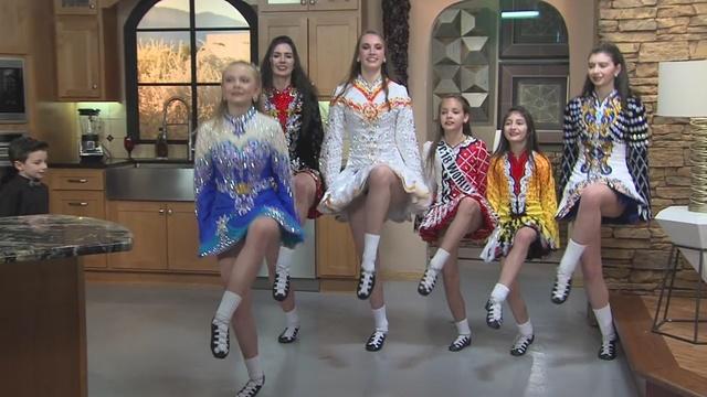 Skillful Irish step dancers celebrate St. Patrick's Day with KRQE