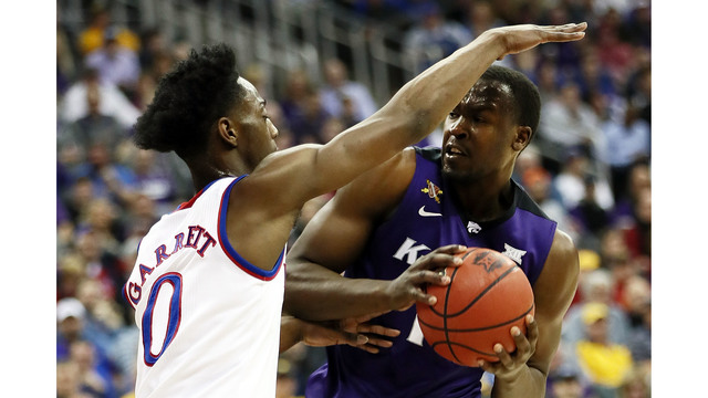 Jayhawks bounce Cowboys out of Big 12 Tournament