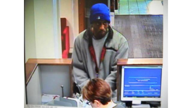 Police release surveillance photo of bank robbery suspect