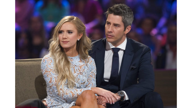 'Bachelor' Arie and Lauren finally go to a restaurant