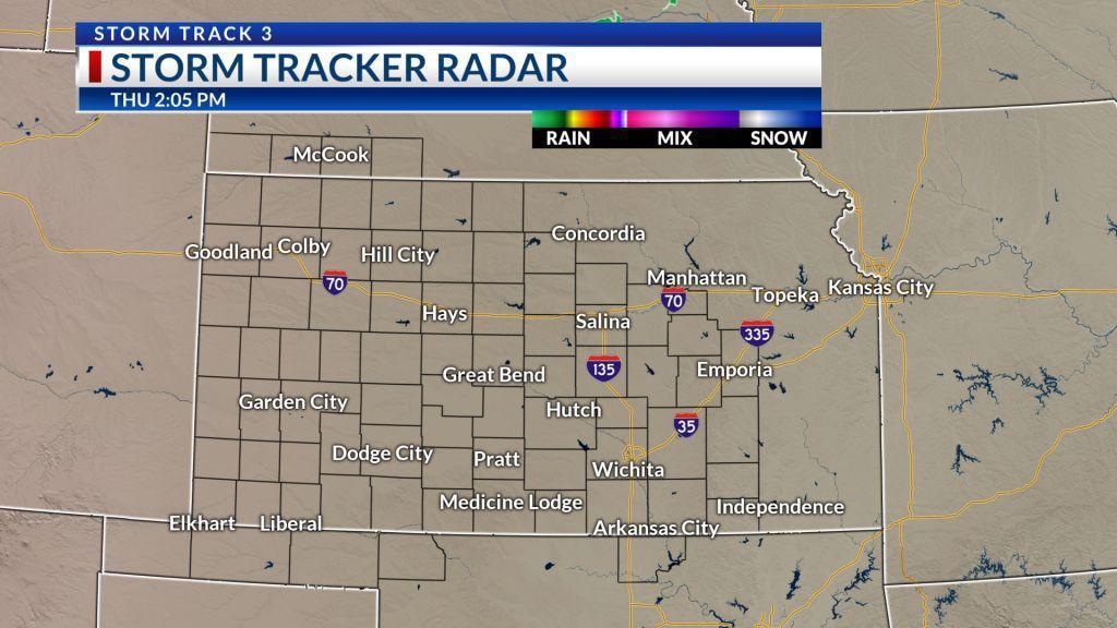 Current Kansas Radar Loop