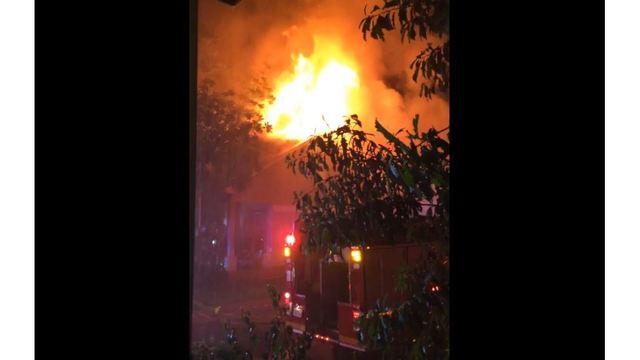 House fire on Champ Court in northwest Austin_294537