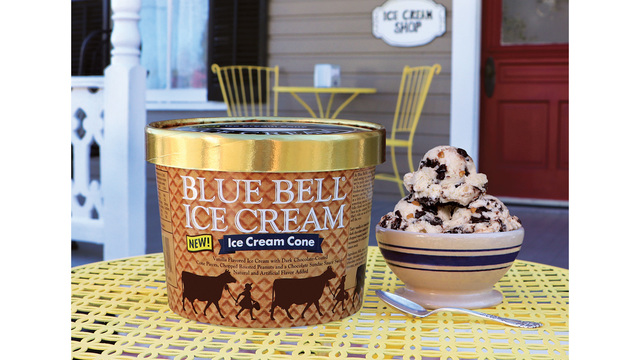 Blue Bell launches Ice Cream Cone flavor