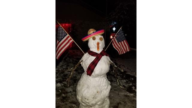 PHOTOS: The snowmen of Central Texas