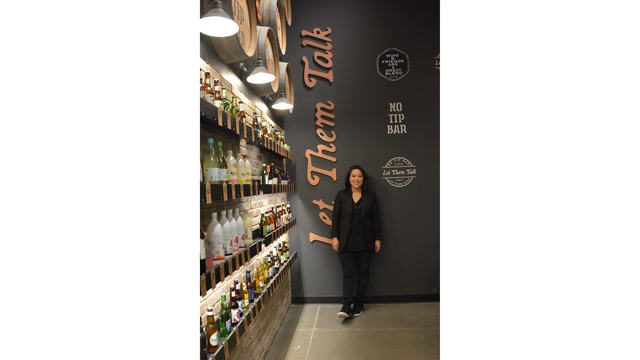 Stacey Kwon at the Market Eatery inside the Hmart_638074