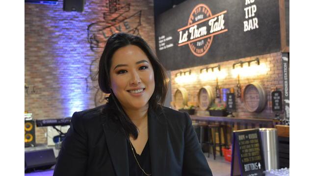 Stacey Kwon, creator of Hmart's Market Eatery (KXAN Photo)_638076