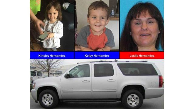 Amber Alert issued for children, 2 and 3, taken by father