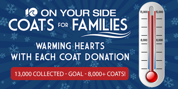 Coats for Families Thermometer