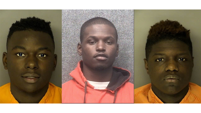 3 Myrtle Beach teens jailed for attempted murder after shooting