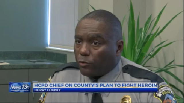 New Horry County Police Chief has plans to fight the Heroin epidemic