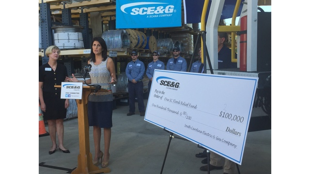 Haley Urges Donations to One SC Fund to Help Hurricane Victims