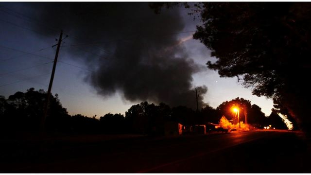 Explosion in Alabama shuts gas pipeline, shortages possible
