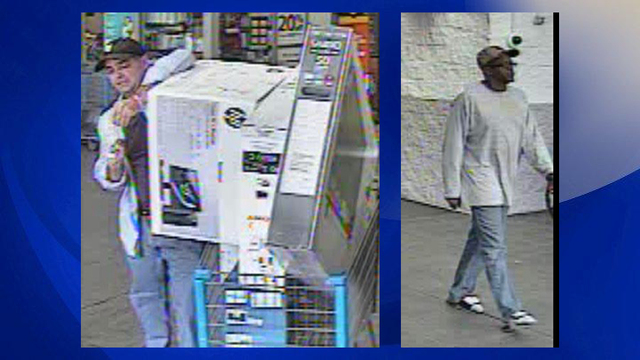 Florence police search for 2 men wanted for questioning about credit card fraud