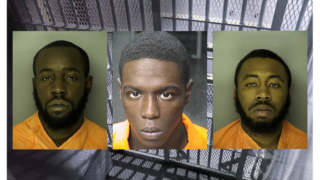 Three 21-year-old men charged in Conway Dollar General armed robbery