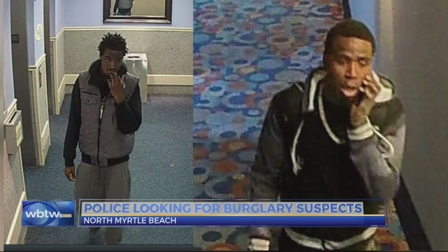 North Myrtle Beach police look for burglary suspects