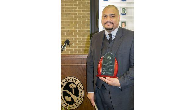 FMU Professor Owens receives AAFSC Diversity Award