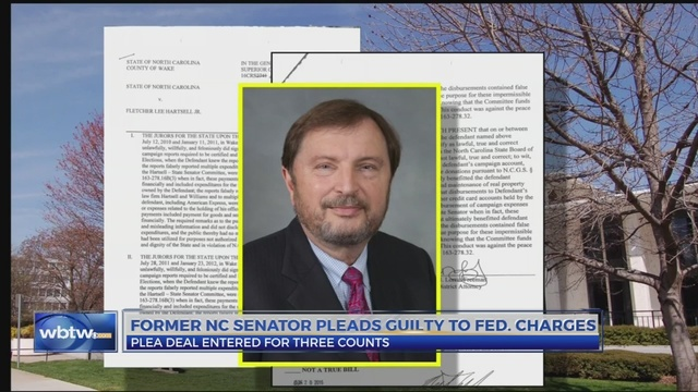 Former NC senator pleads guilty to federal charges
