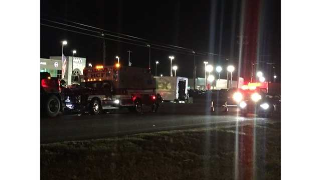 Horry County Fire Rescue ambulance involved in crash near Carolina Forest