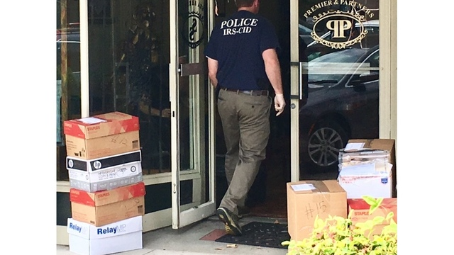 Darlington businesses raided by IRS agents