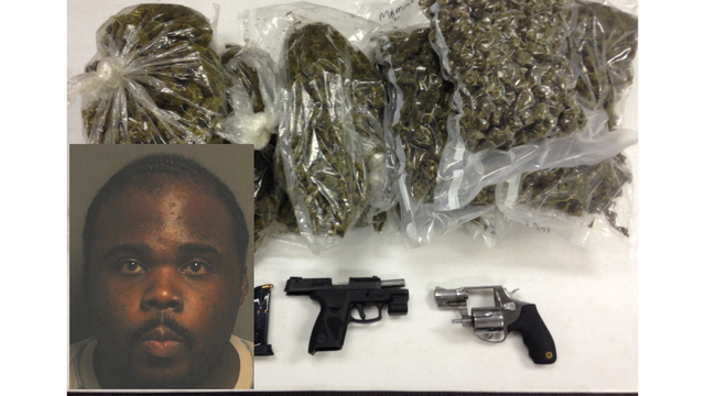 Marion man charged with trafficking marijuana, possession of a weapon