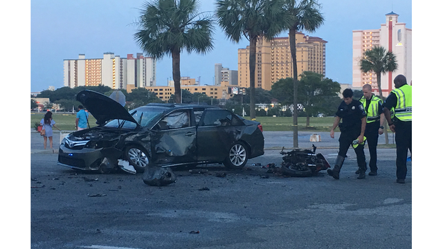 Motorcyclist killed, 'multiple people' hospitalized in Myrtle Beach crash