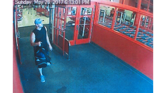 Unknown person caught on camera stealing supplements from Florence Target