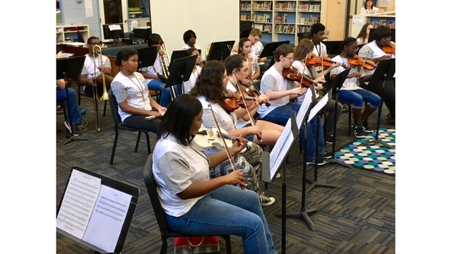 Florence workshop helps young musicians hit the right note