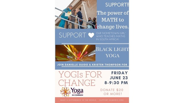 Yogis for Change event this Friday at Myrtle Beach's Market Common
