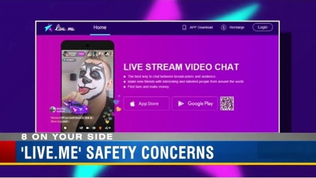 Mom warns 'Live.me' app victimized her daughter