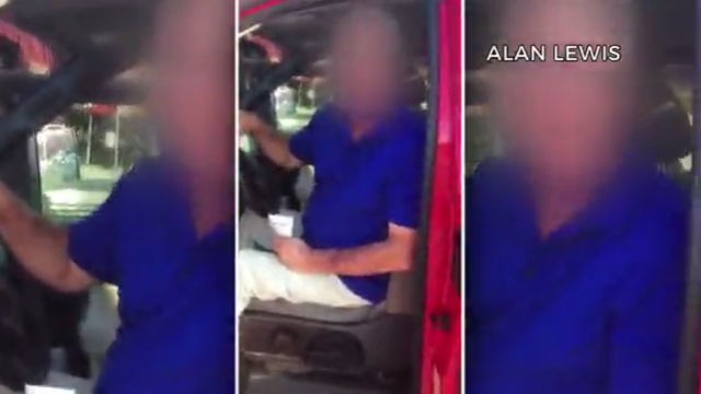 VIDEO: Heated argument over dogs left in hot truck