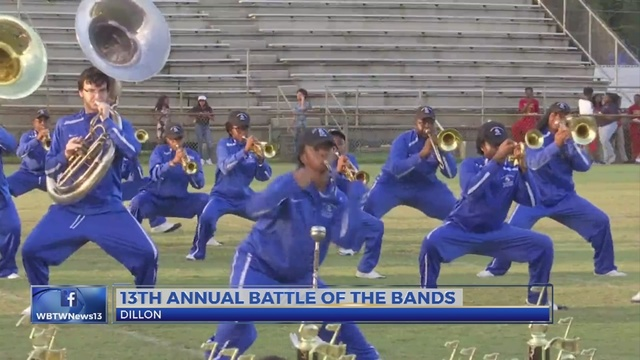 Dillon High School hosts 13th annual 'Battle of the Bands'